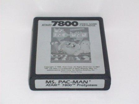 Ms. Pac-Man - Atari 7800 Game